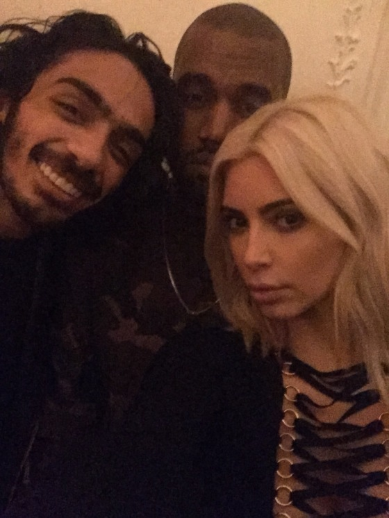 Givenchy private after party with Kim and Kanye